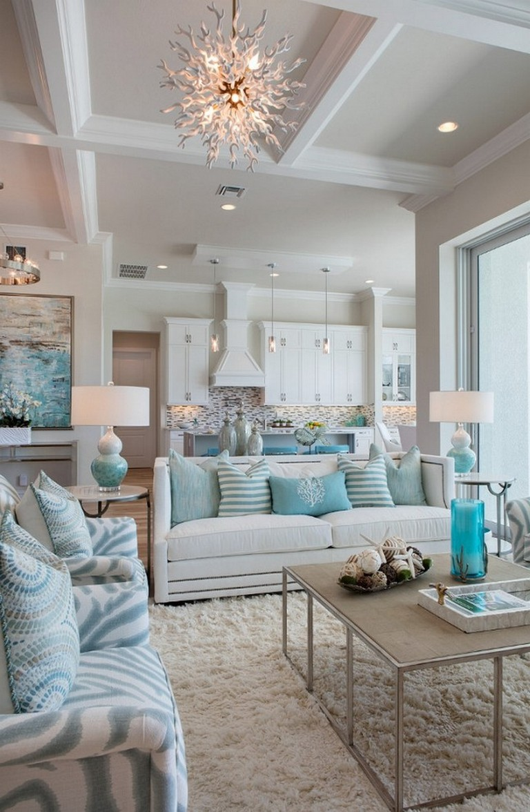 Elegant Beach House Interior Decor Ideas