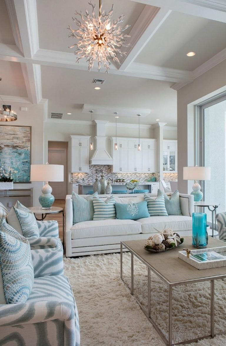 110 elegant beach house interior decor ideas