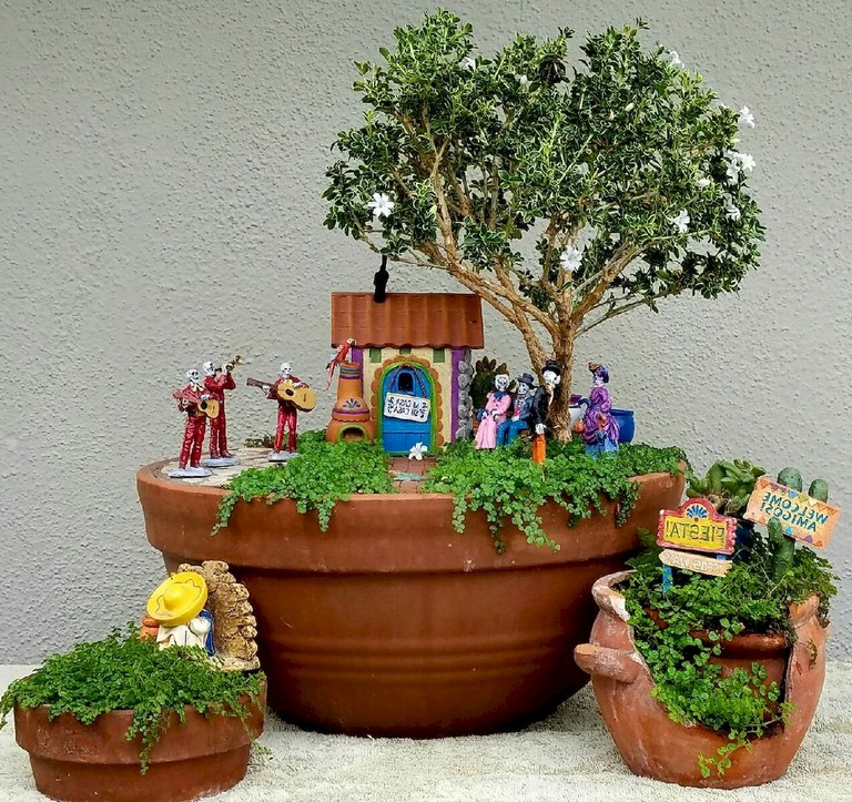 Diy Landscape Design: 44+ Simple DIY Fairy Garden Design Ideas