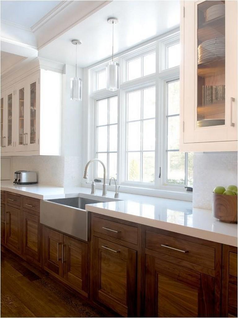 18+ Elegant Kitchen Cabinet Idea Decorating Unique And ...